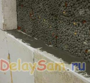 Технология строительства:  Утепление стен
